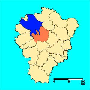 Rybinsky District, Yaroslavl Oblast - Image: Rybinsky District, Yaraslavl