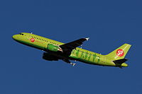 VQ-BPN - A320 - S7 Airlines