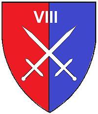 SADF 8 SA Armoured Division emblem