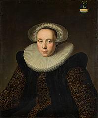 Portrait of Grietge Willemsdr. Backer (1571-1624)