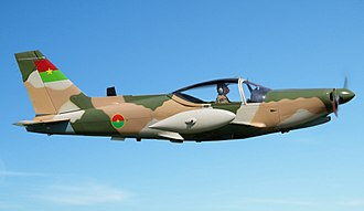 Burkina Faso Armed Forces - An SF 260C of the Burkina Faso Air Force