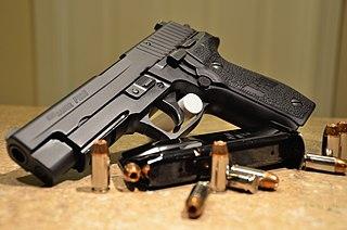 SIG Sauer P226 Swiss semi-automatic pistol