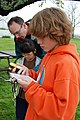 SK Searching for eggs with GPS (5664339123).jpg