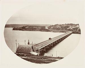 Glebe Island Bridge - Image: SLNSW 479646 143 Glebe Island Bridge SH 619620