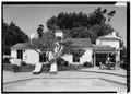 SOUTHWEST SIDE - Stoltzfus-Humphries House, 6855 La Valle Plateada, Rancho Santa Fe, San Diego County, CA HABS CAL,37-RANSF,14-3.tif