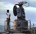 SPW-2 fire control radar aboard USS Oklahoma City (CLG-5), circa in 1966.jpg