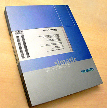 English: The Siemens SIMATIC S7 SATEP 7 V5.4 S...