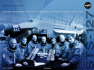 STS-127 - Mission poster