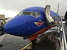 Southwest's 500th 737 at Burbank