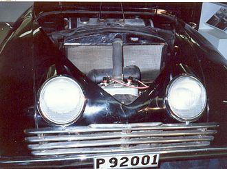 Saab Ursaab - Transverse two-cylinder two-stroke