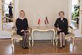Saeimas priekšsēdētāja Ināra Mūrniece tiekas ar Polijas vēstnieci (16566980417).jpg
