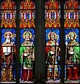 Saint-Maixent-l'Ecole - Abbatiale - Vitraux.JPG