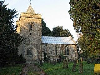 Flintham village in the United Kingdom