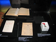 Saint Exupery exhibit - Air & Space Museum, Le Bourget, Paris, France (5).JPG