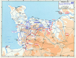 Breakout (military) - The St. Lô breakthrough, 25–31 July