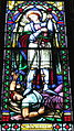 Saint Peter Church (Upper Sandusky, Ohio) - stained glass, Saint Michael.jpg