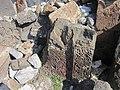 Saint Sargis Monastery of Ushi (khachkar) (47).jpg