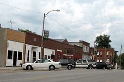 Downtown Salem, Iowa