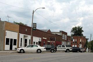 Salem, Iowa City in Iowa, United States