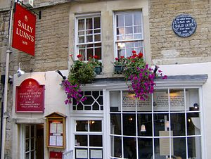 Sally Lunn bun - The Sally Lunn Eating House
