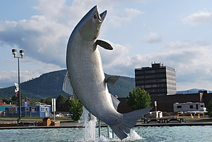 Salmon sculpture Campbellton01.JPG