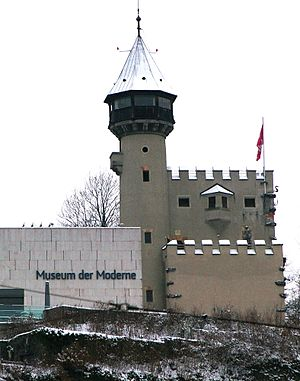 Museum der Moderne Salzburg - The water tower