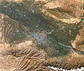 Samarkand city and vicinities, Uzbekistan, LandSat-8 near natural colors satellite image, 25-OCT-2015.jpg