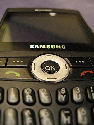 Samsung SGH-i607 - Image: Samsung Black Jack