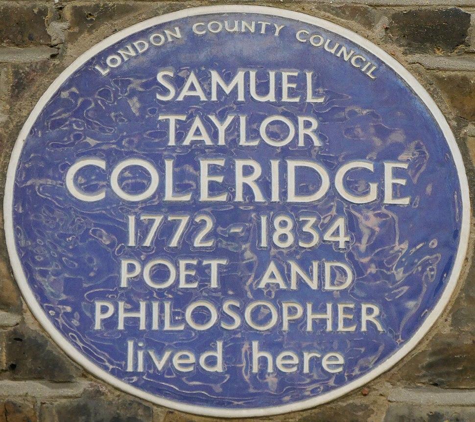 SamuelTaylorColeridgeBluePlaque