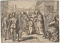 Samuel Annointing David; verso- sketch of two figures MET DP801397.jpg