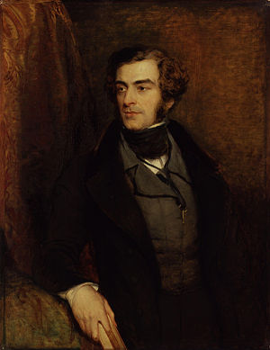 Samuel Warren (British lawyer) - Samuel Warren (c. 1835-40), by John Linnell.