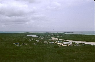 San Salvador Island - Image: San Salvador from lighthouse 1