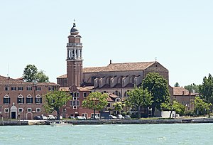 Saint Nicholas - The church of San Nicolò al Lido (Venice), hosts half of Nicolas' relics