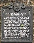 San Nicolas de Tolentino marker.jpg