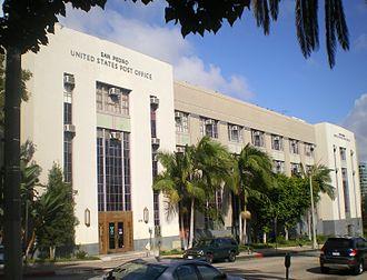 United States Post Office (San Pedro, California) - San Pedro Post Office, 2008