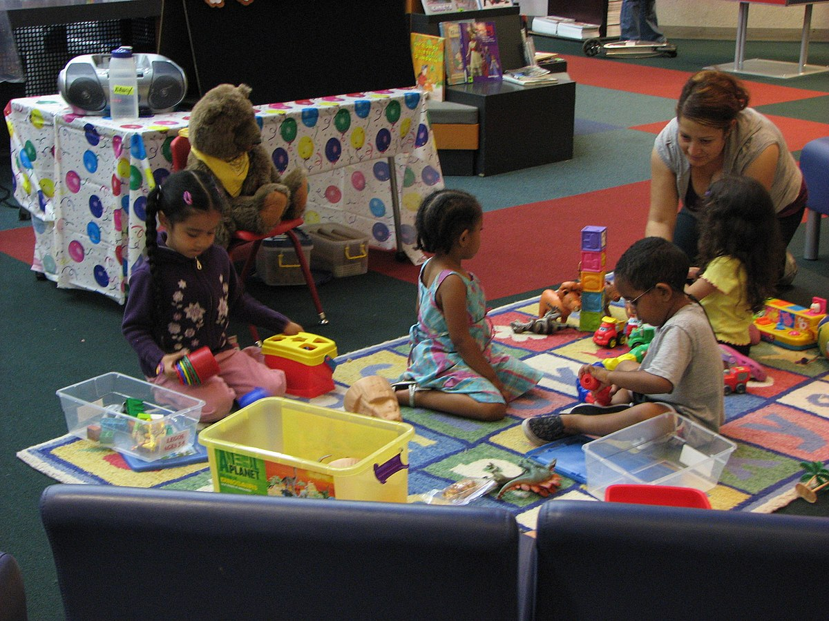 Image result for toy time at library