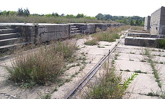 Sandy Hook Proving Ground - Image: Sandy Hook gun platforms
