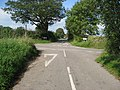 Sandyford Lane - Junction looking across to Roughpiece Lane - geograph.org.uk - 968917.jpg