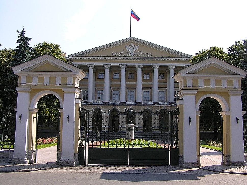 Sankt Petersburg-Regierungssitz Smolny
