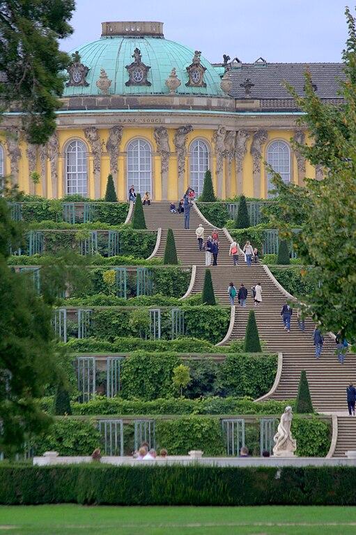 Jardin du Chateau Sans Souci à Potsdam près de Berlin - Photo de Till Krech