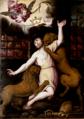 Sant'Ignazio vescovo di Antiochia sbranato dai leoni - Cerano.png