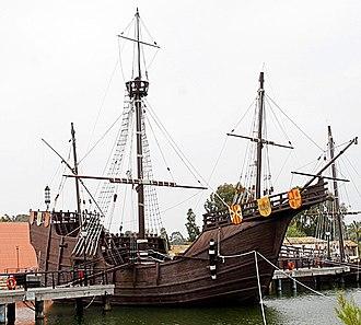Wharf of the Caravels - Replica of the Santa María.