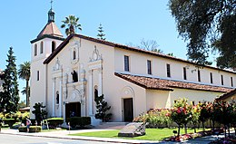 Santa Clara, CA USA - Santa Clara University, Mission Santa Clara de Asis - panoramio (2) (cropped).jpg