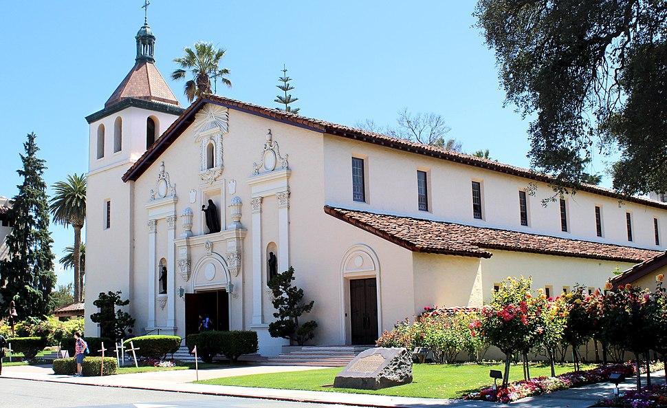 Santa Clara, CA USA - Santa Clara University, Mission Santa Clara de Asis - panoramio (2) (cropped)