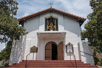 Santa Ysabel Asistencia - The Church of Saint John the Baptist, erected on the site of the original Santa Ysabel Asistencia in 1924.