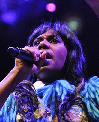 Santigold - Santigold performing in Boston, 2012