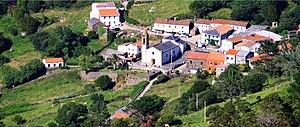 Cedeira - Image: Santo André de Teixido, Cedeira. Panorámica