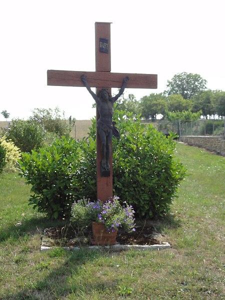 Sanzey (Meurthe-et-M.) croix de chemin