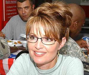 Sarah Palin - Palin visits soldiers of the Alaska National Guard, July 24, 2007