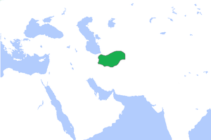 Sarbadars - Map of the Sarbadars by 1345 AD